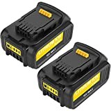Powayup 18V 5.0Ah Reemplazo para Dewalt DCB205 Batería DCB184 DCB184B-XJ DCB180 DCB181 DCB182 DCB183 DCB185 18V XR Batería de Herramienta eléctrica