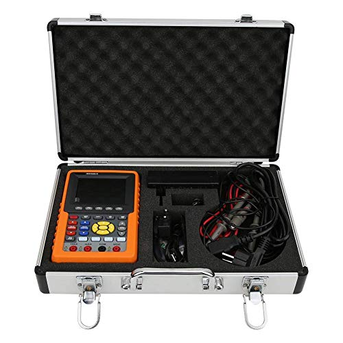 YIONGA CAIJINJIN multímetro Osciloscopio Digital, 3in 1 Dual Canal portátil medidor de frecuencia Almacenamiento osciloscopio Digital multímetro