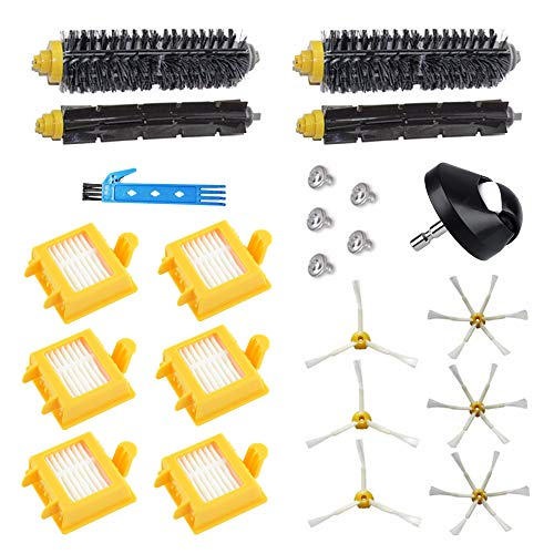 Kit de accesorios para iRobot Roomba serie 700 720750760770780790772774776782 Cepillo principal Repuestos de filtro Hepa