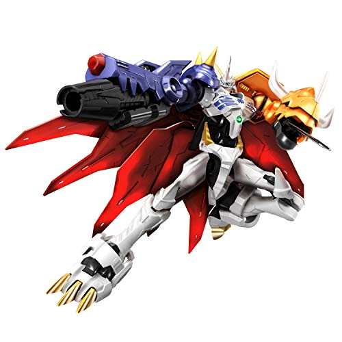 Bandai Hobby Figure-Rise Standard Omegamon (Amplified) Digimon Model Kit Maqueta