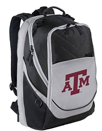 Broad Bay Texas A&M Backpack Texas A&M Aggies Laptop Computer Bag