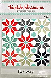 Norway quilt pattern by Thimble Blossoms