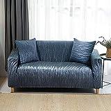 ASCV Geometrische Sofabezug Set Baumwolle Elastic Stretch Sofabezüge für Wohnzimmer Ecke...