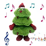 Christmas Electric Plush Toy, Singing and Dancing Christmas Tree, Glowing Doll Decoration Gifts for Kids Ages 4+