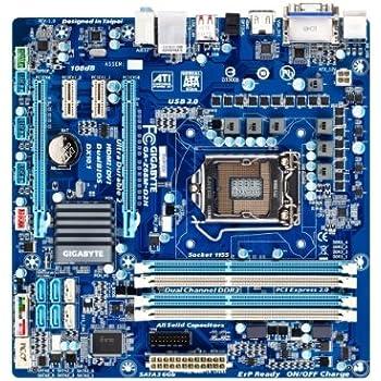 GIGABYTE microATX Intel Z68 LGA1155 DDR3 PCI-E SATA2 SATA3 RGB DVI HDMI GbE USB2.0 GA-Z68M-D2H