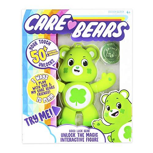 "Care Bears 5"" Interactive Figure - Good Luck Bear"