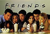 Friends - Poster - Group With Milkshakes + Ü-Poster