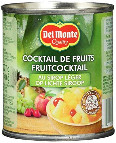 Del Monte Fruchtcocktail gezuckert, 12er Pack (12 x 227 g Dose)
