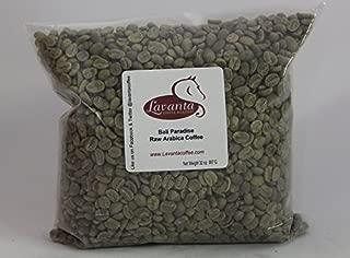 Lavanta Coffee Roasters Bali Paradise Green Direct Trade Coffee, 2lb