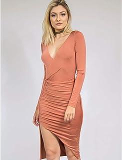 f2a41b6aac99 Moda - Laranja - Vestidos / Roupas na Amazon.com.br