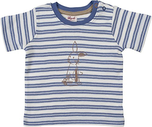 People Wear Organic Bio T-Shirt Bébé - Bleu - 74/80 cm
