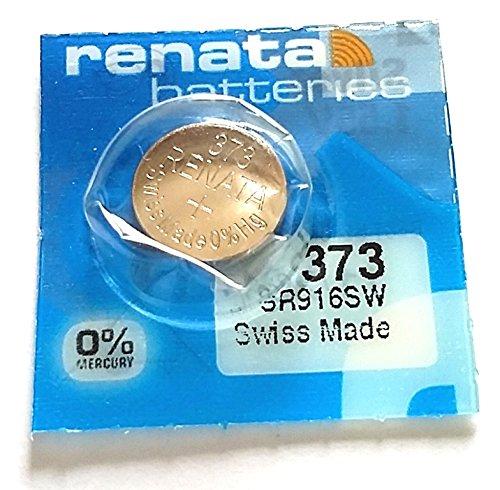 1x Renata 373Swiss Made Bottone al Litio SR916SW