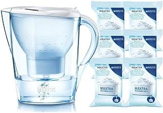 BRITA碧然德 海洋系列 Marella3.5L滤水壶 【1壶6芯 白色】【包含滤水壶?#28304;?#30340;一个滤芯】
