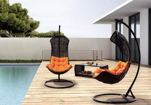 Clove – Balance Curve Porch Swing Chair - Model – Y9091Bk