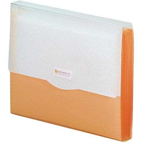 LIHIT LAB. リヒトラブ ドキュメントファイル G5610-4 A4 オレンジ