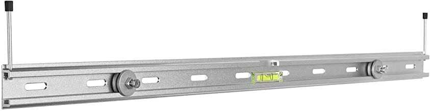 Mount Plus MP-SB-42 Aluminum Universal Sound Bar Bracket Mount for Mounting Sound Bar Above or Under TV Fits Most of Sound Bars up to 33 LBS