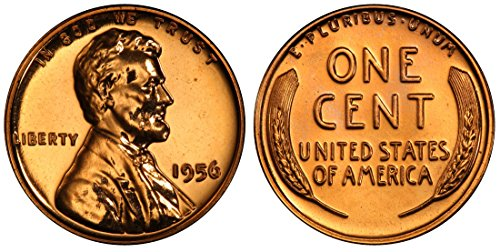 1956 Gem Proof Lincoln Memorial Cent Penny Proof US Mint
