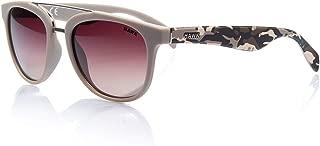 Hawk kadınerkek Güneş Gözlükleri HW 1399 01, Krem, 52