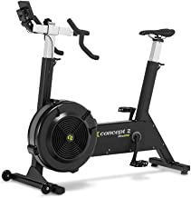 Concept2 BikeErg with PM5 Monitor, Stationary Exercise Bike with Adjustable Air Resistance for Exercise, Conditioning, and Strength Training—Commercial and Home Use
