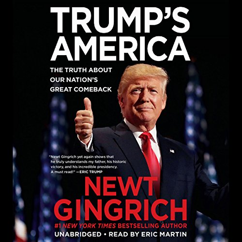Trump's America audiobook cover art