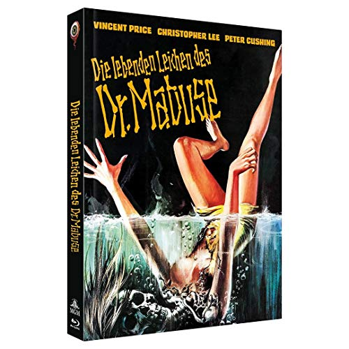 Scream and Scream Again - Die lebenden Leichen des Dr. Mabuse - Mediabook - 2-Disc Limited Collector's Edition Nr. 44, Cover C,