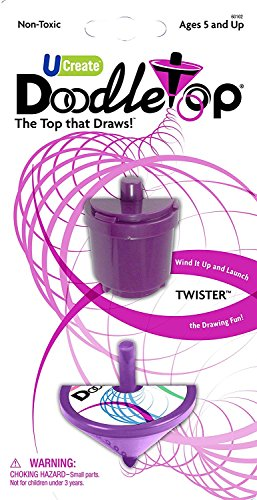 Doodletop Twister 1 Toupie avec recharge – Couleurs assorties
