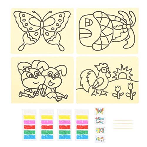 Kunstspeelgoed voor kinderen, hoogwaardig, eenvoudig te gebruiken, levendige kleuren, veilige en milieuvriendelijke…