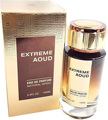 Extreme Aoud my Perfumes - 100 ml Eau de Parfum Bergamotte, Rose, holziges Aroma