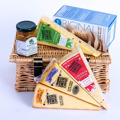The Cheddar Gorge Cheese Company 4 Cheddar Cheese Gift Hamper