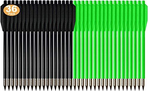 Kavard 6,3-Zoll Armbrust Pfeile für Armbrustpistole mit 50 lbs bis 80 lbs Armbrustpfeile 36er Packung