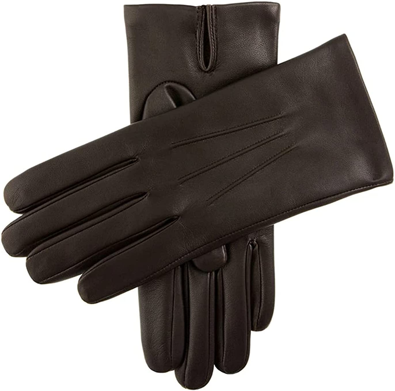Dents Mens Bath Leather Cashmere 8 Brown Gloves Cash National products special price Lined Size