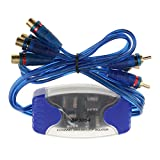 4-Channel Ground Loop Isolator Noise Filter RCA Isolation Audio Improvment