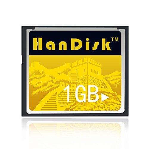 Handisk scheda CF 3anni di garanzia di sostituzione scheda di memoria CF 1GB