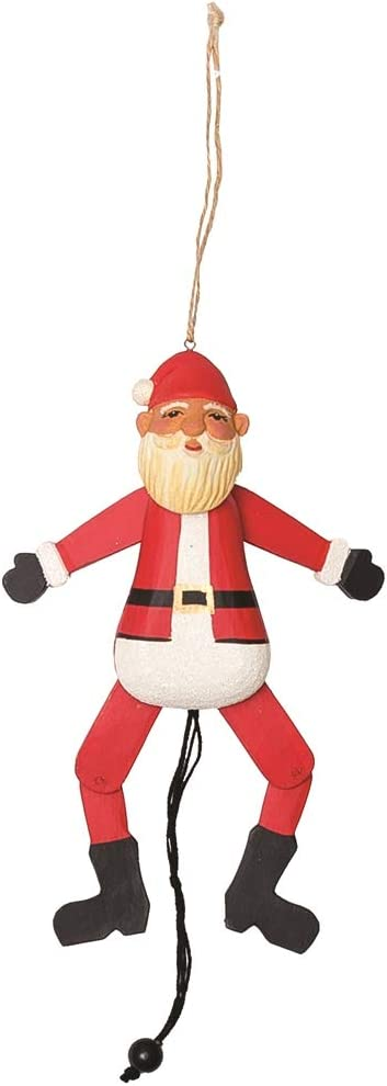 CF Home Santa Claus Pull In a popularity String Jumping Red x Inch G Max 86% OFF Rosy 3.5 6