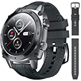 CUBOT C3 Smart Watch, Waterproof Smartwatch for Men Women Android iOS, Full Touch Screen Fitness Tracker with Heart Rate Monitor, Sleep Monitor, Pedometer Step Counter, Sport Bluetooth Watches, Gray