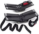 The Kayak Wing - Sea Kayak Rack with Covered Straps for Boats Under 30' Wide by Great Lakes Kayak LLC