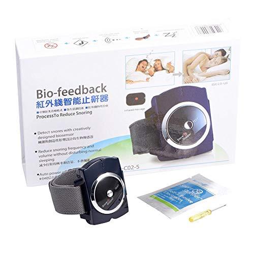 Schnarchstopper-Armband Intelligente Infrarot-Anti-Schnarch-Bio-Feedback-Uhr Pure Sleeping Night Guard Aid