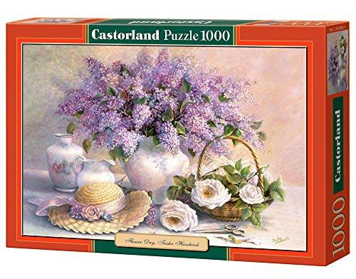 Flieder und Rosen - Trisha Hardwick - 1000 Teile - Castorland