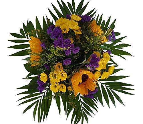 Flora Trans Blumenstrauss verschicken mit Sonnenblumen -Ein Sonnengruß-