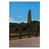 1000 Pieces Wooden Jigsaw Puzzle Travel to Bald Head Island by Ferry and Old Baldy Lighthouse North Fun and Challenging Board Puzzles for Adult Kids Large DIY Educational Game Toys Gift Home Decor