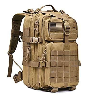 "Military Tactical Backpack Bug Out Bags Rucksacks for 15-15.6"" Laptop Daypack"