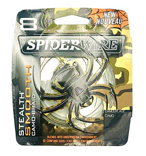 Spiderwire Stealth Smooth 8 Camo 0.25 mm 300 mt