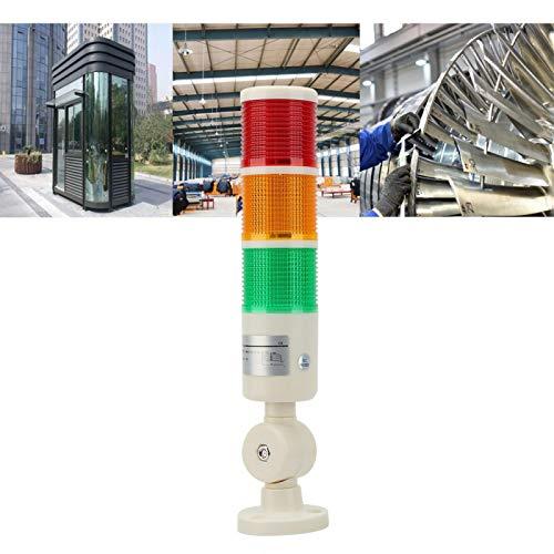 Luz de calentamiento industrial, torre de señalización LED de 3 capas Luz de...