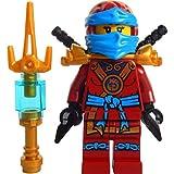LEGO Ninjago: Minifigure Deepstone Nya With Weapons