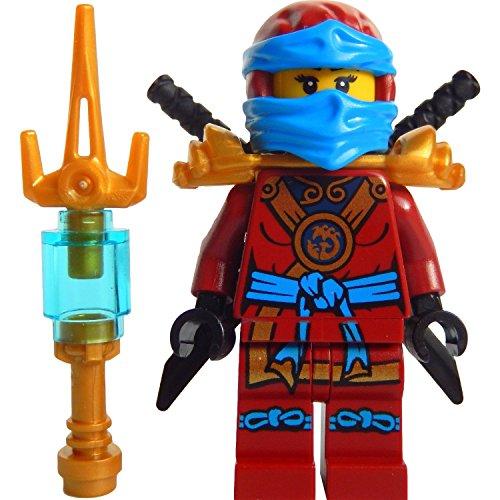LEGO Ninjago: Minifigur Deepstone Nya mit Waffe aus dem Set 70751