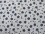 Confección Saymi Tela 100% algodón Estampado 2,45 MTS Ref. Hana Positivo Azul, Doble Ancho 2,80 MTS.