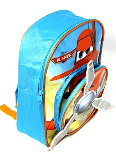 Trade Mark Collections Walt Disney DPLANES001008, Kinder Unisex Kinder Herren Schulrucksack Blau blau