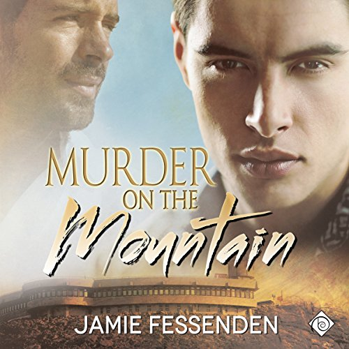Murder on the Mountain audiobook cover art