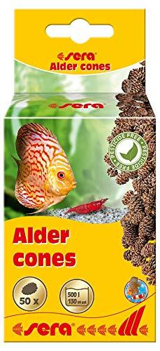 sera Erlenzapfen 50 St. zur natürlichen Senkung des pH-Wertes des Wassers (1 Zapfen pro 10 l) fördern die Laichbereitschaft von Fischen & Garnelen, beugen Pilzerkrankungen & Laichverpilzung vor