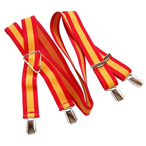RK Tirantes Bandera de España Rojo y Gualda